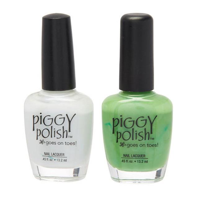 Piggy Polish 2 pk, Mistle Toe & Grasshopper