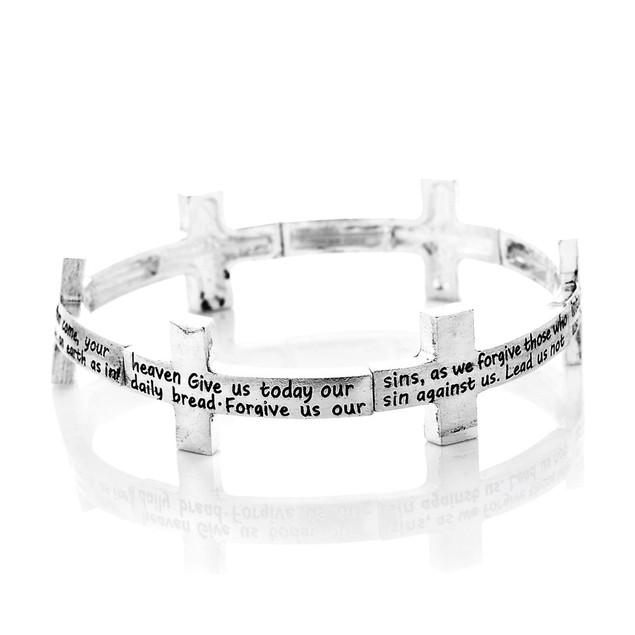 Novadab Lord's Prayer Bracelet
