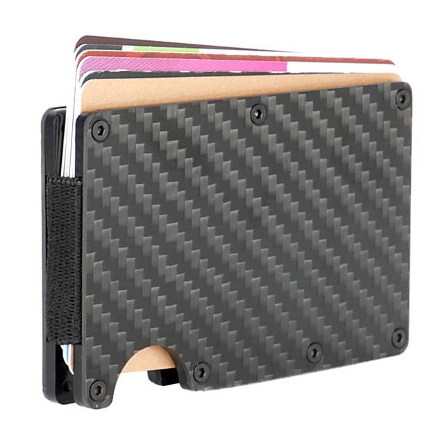 Carbon Fibre RFID Blocking Wallet | Pukkr