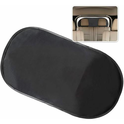 Zone Tech Car Rear Cling Window Sunshade Mesh Shield No Suction Cups