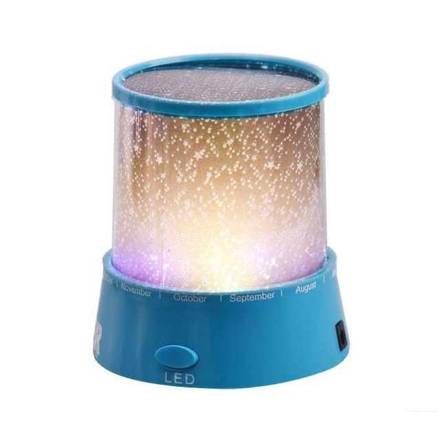 Romantic Colourful Cosmos Star Master LED Projector Lamp Night Light