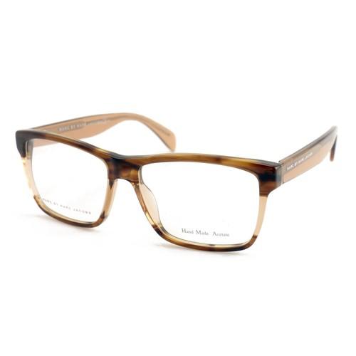 Marc Jacobs Unisex Eyeglasses MMJ 630 AT4 Havana Beige 50 17 135 Full Rim Square