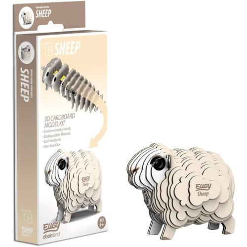EUGY Sheep 3D Craft Kit