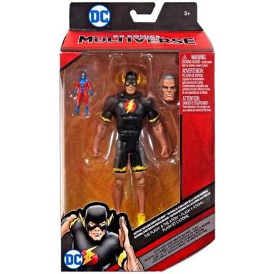DC Comics Multiverse The Flash and Atom Bruce Wayne Head Action Figure