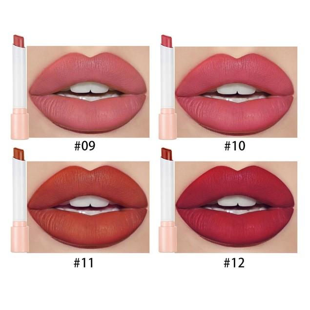 Cigarette Lipstick Set of 4 Matte Velvet Matte Lipstick