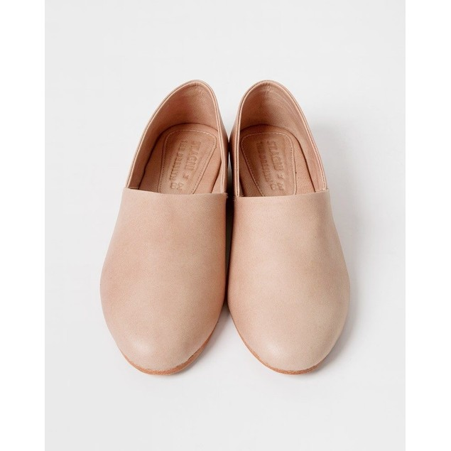 St. AGNI Women's Exclusive Warm Beige George Glove Flats Beige Size 37