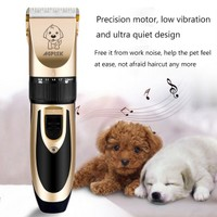 PET DOG CLIPPER GROOMING ANIMAL HAIR PROFESSIONAL ELECTRIC SHAVER KIT