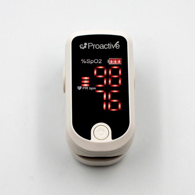Proactive Medical Protekt Pulse Oximeter with SpO2 & Heart Rate