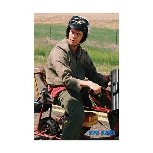 Dumb & Dumber Lloyd Bike Regular Poster