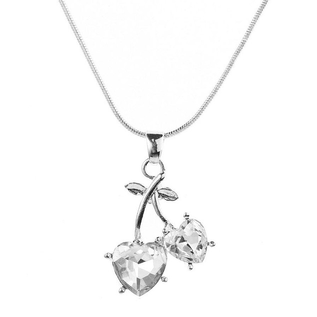 Novadab You And Me Heart Engraved Necklace For Women