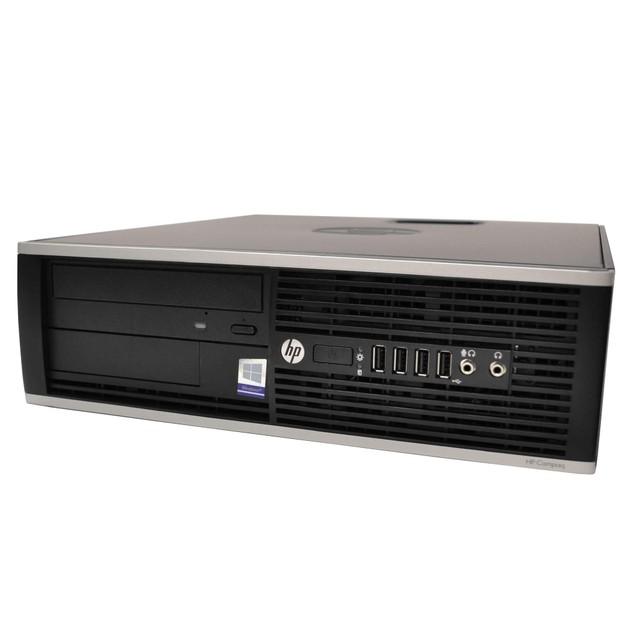 """HP 6300 Desktop Intel i7 16GB 240GB SSD Windows 10 Professional 22"""" Monitor"""