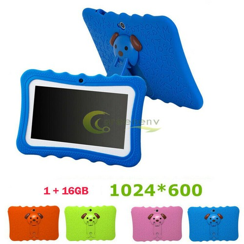 """Kids 7"""" Tablet PC 16GB Android Wifi Quad Core Educational Apps Best Gi"""