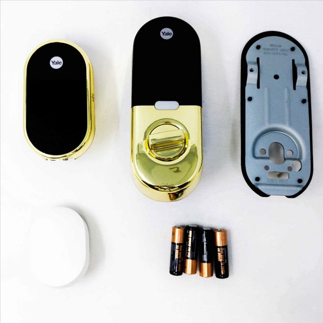 MINT Nest X Yale - Smart Lock with Nest Connect - Polished Brass