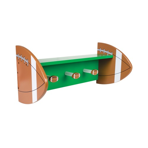 Trend Lab Football Shelf With Pegs