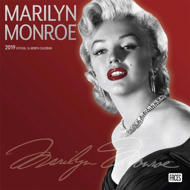 Marilyn Monroe Wall Calendar, Female Movie Stars by BrownTrout