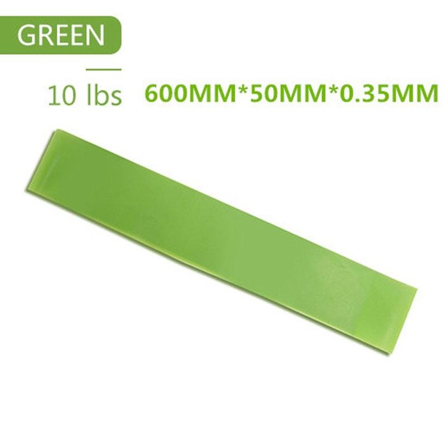 5 Colors Yoga Resistance Rubber Bands Indoor Fitness Equipment