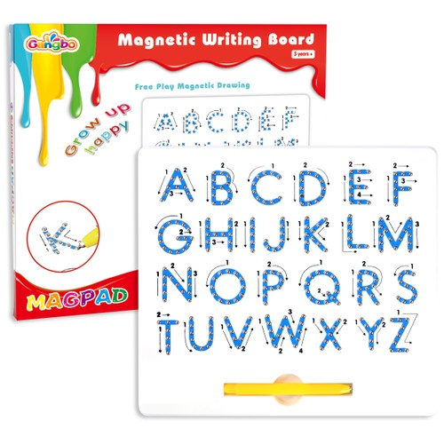 Magnetic Uppercase Alphabet Letters Tablet/board With Stylus Pen