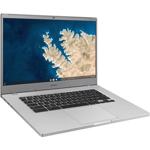 "Samsung Chromebook 4+ 15.6"" 32GB N4000 ChromeOS,Platinum Titan (New Open Box)"