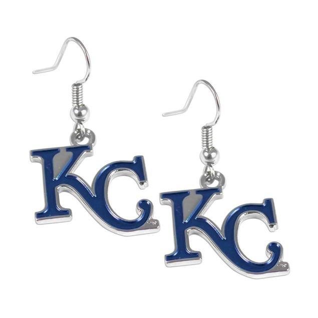 MLB Kansas City Royals Logo Dangle Earring Set Charm Gift
