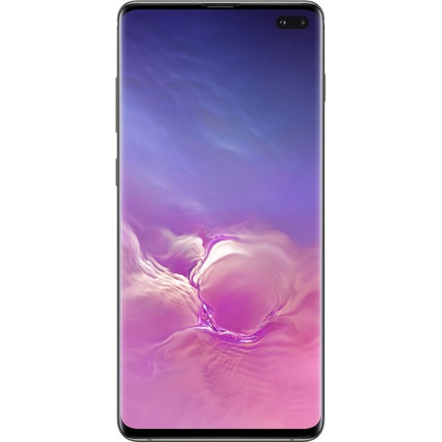 Samsung Galaxy S10+, AT&T, Grade B-, Black, 128 GB, 6.1 in Screen