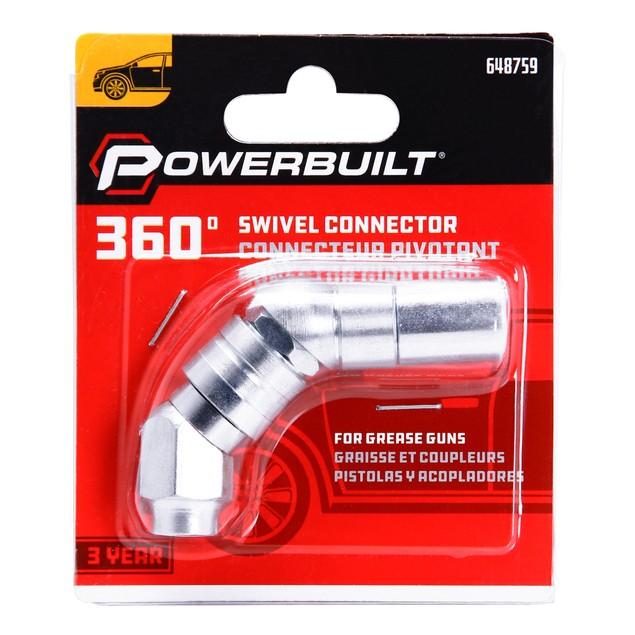 Powerbuilt 360 Degree Grease Gun Swivel Connector - 648759