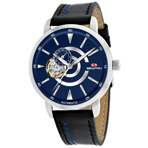 Seapro Men's Elliptic Blue Dial Watch - SP0143