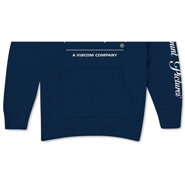 Paramount Logo Men's Hoodie Navy Size Extra Large