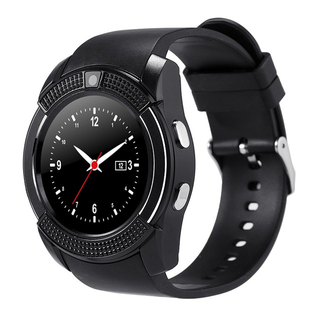 V8 Wrist Watch Calling Sleep Monitor Anti-Lost for iOS Android