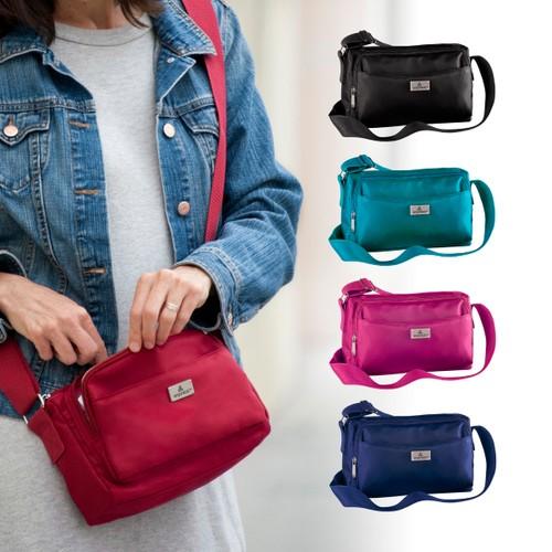 Organizzi RFID Compact-Size ActiveWear CrossBody/Travel Bag