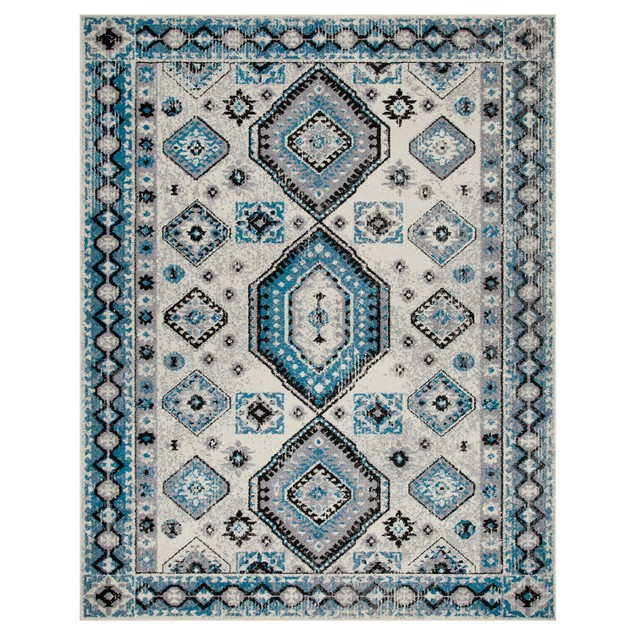 Southwestern Geometric Indoor Runner Rug by Blue Nile Mills