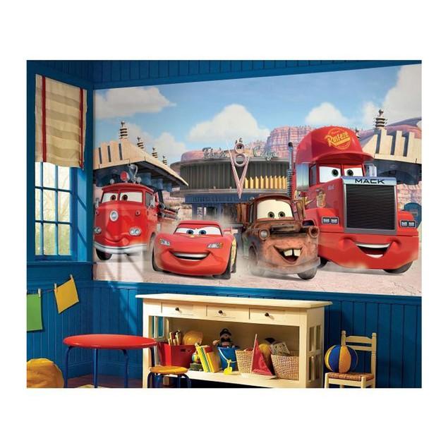 Disney Pixar Cars Friends to the Finish XL Wallpaper Mural 10.5' x 6'
