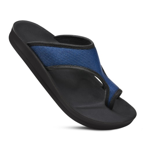 AEROTHOTIC Women's Aster Arch Support Split Toe Slide Sandals