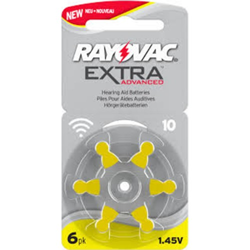Rayovac Size 10 MF Zinc Air Hearing Aid Batteries (60 pack)