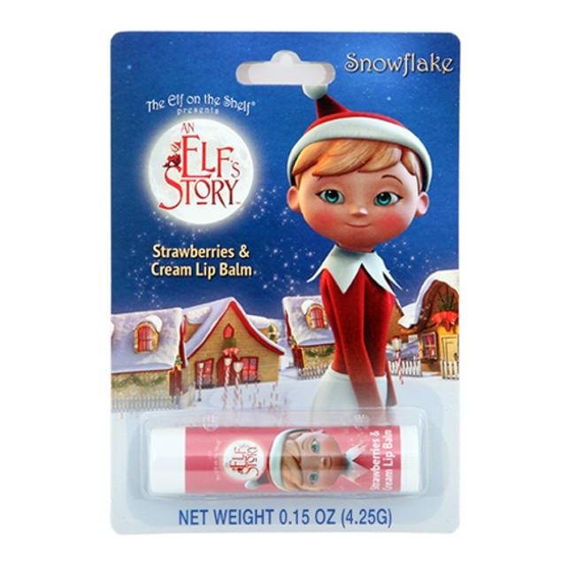 Elf On The Shelf Strawberries & Cream Lip Balm Chapstick Christmas Xmas