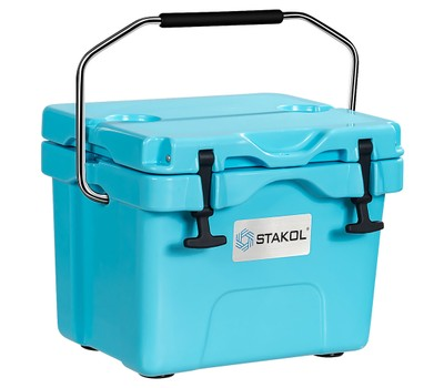 16 Quart 24-Can Capacity Portable Insulated Ice Cooler with 2 Cup Holders Was: $169.99 Now: $87.99.