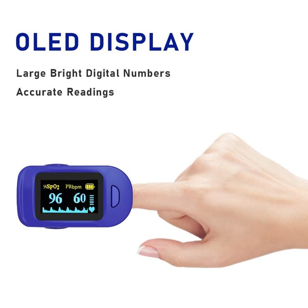 Fingertip Pulse Oximeter Infrared Forehead Thermometer Kit