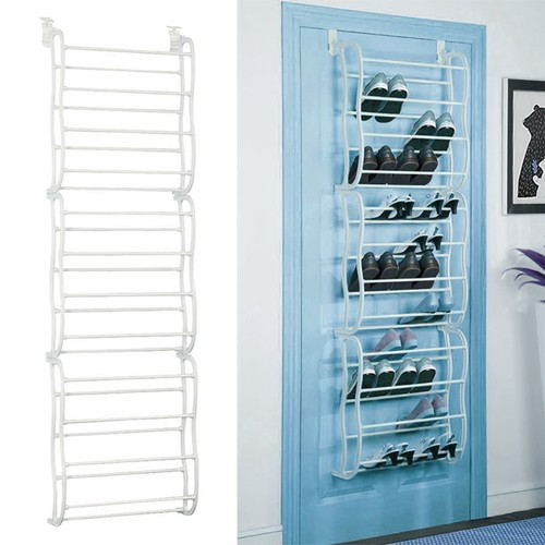 36 Pairs Over-The-Door Shoe Rack Wall Hanging Closet Shoe Storage Stand