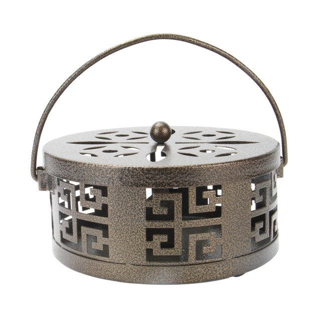 Oriental Mosquito Coil and Incense Holder | MandW Bronze