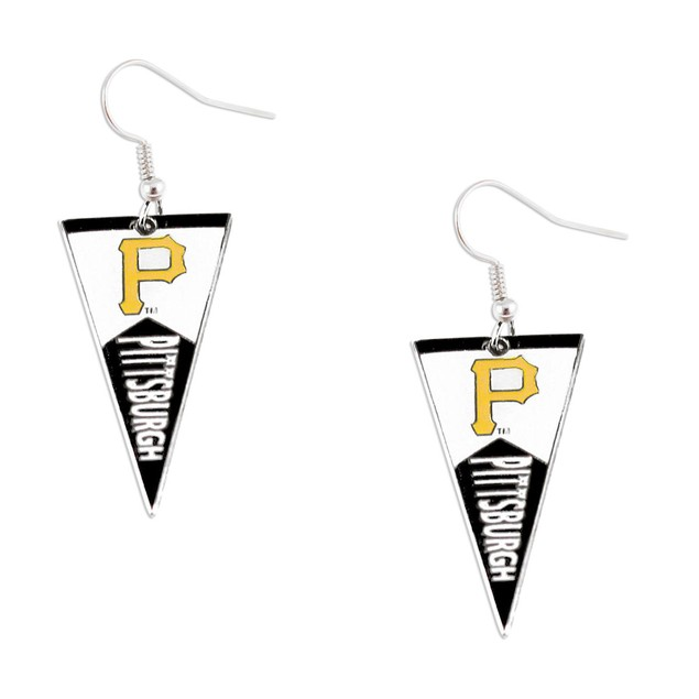 Pittsburgh Pirates MLB Pennant Dangle Earring