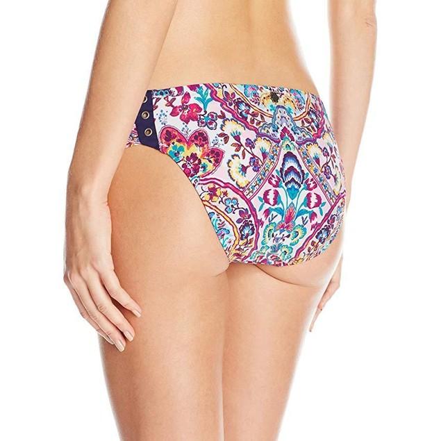Nanette Lepore Women's Hipster Bikini Swimsuit Bottom SZ M