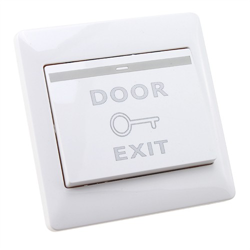 DOOR STRIKE PUSH RELEASE BUTTON EXIT SWITCH PANEL FOR ACCESS CONTROL SYSTEM