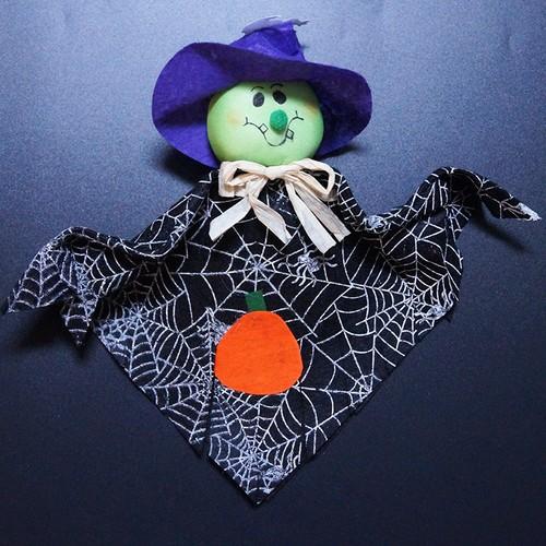 3Pcs Kindergarten Mall Halloween Ghost Decoration Pendant