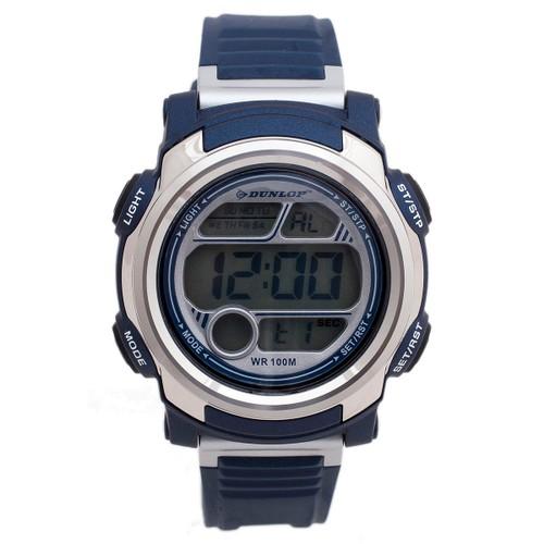 Dunlop Stud DUN195G03 Plastic Case Rubber Mineral Men´s Quartz Watch