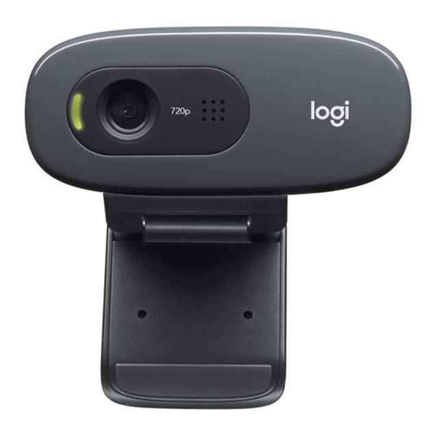 Logitech C270 Desktop or Laptop USB Webcam