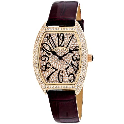 Christian Van Sant Women's Elegant Rose gold Dial Watch - CV4822