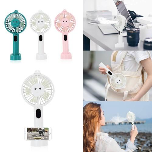 Portable USB Handheld Water Spray Fan Humidifier Fan- 3 Colors