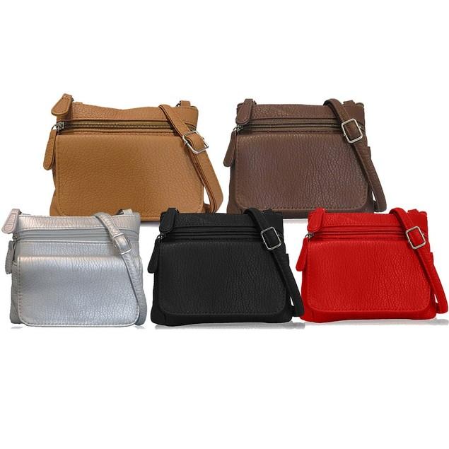 5  Mini Genuine Leather Crossbody Bags