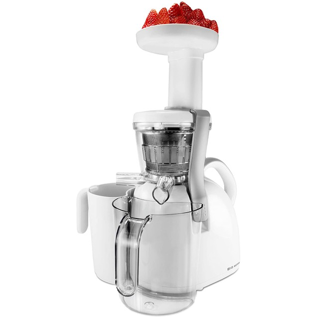 Big Boss Nutritionally Beneficial Slow Juicer - White