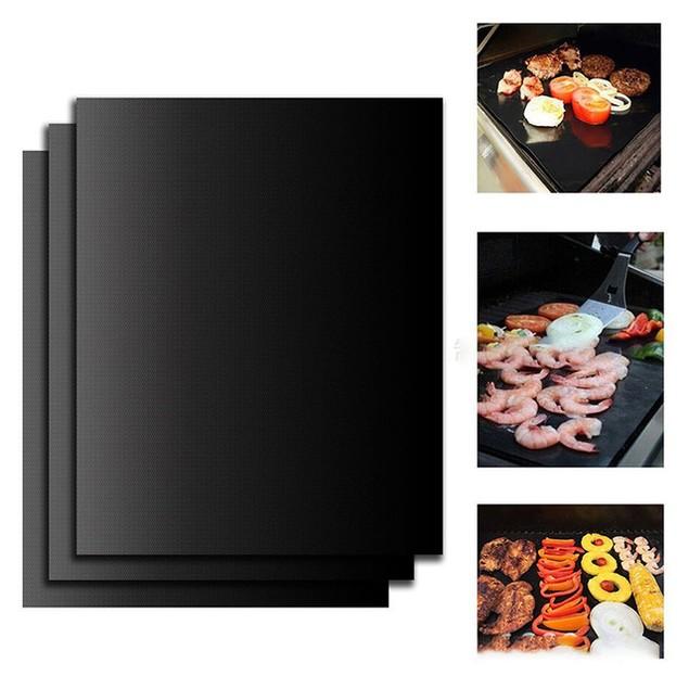 2PK - Grill Mat – Heavy Duty & Nonstick BBQ Grill Mats