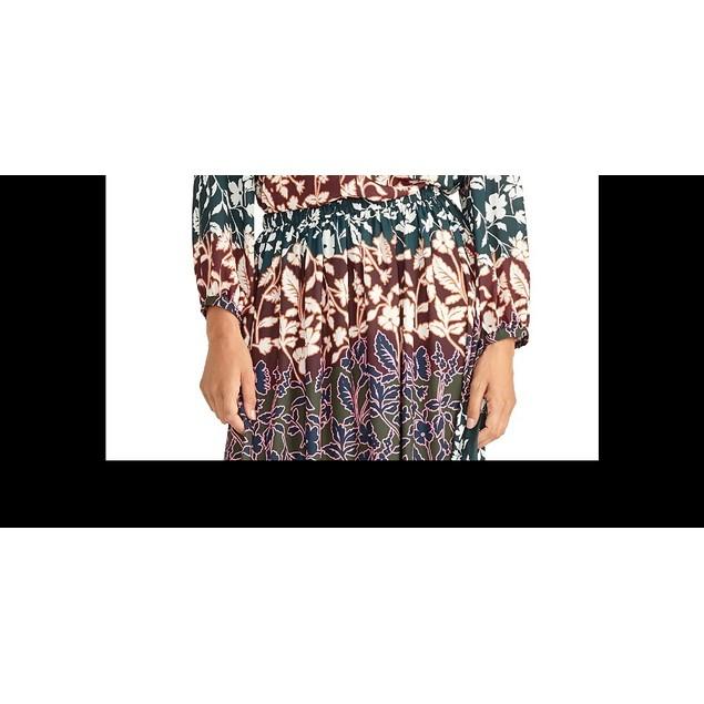 Rachel Rachel Roy Women's Floral-Print Top Med Pink Size Medium